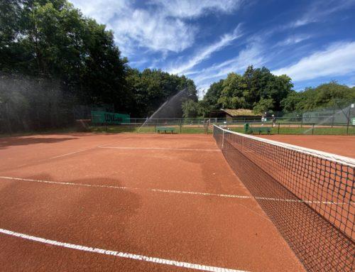 Tennis in den Sommerferien